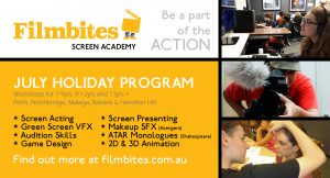 Film Bites Screen Academy Holiday Program