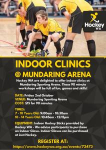 Hockey WA - Indoor Hockey Development Clinic
