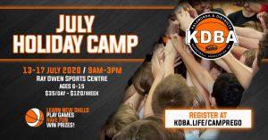 KDBA July Holiday Camp