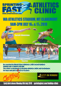 School Holiday Athletics Clinic