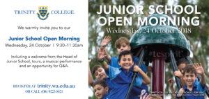 Trinity College Junior School Open Morning